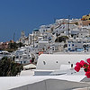 Santorini - Imerovigli : Immerovigli is a picturesque village situated at the north of the island, only 2 km away from the capital of Fira. Actually, it is the extension of Fira, but the village is situated on a higher cliff.